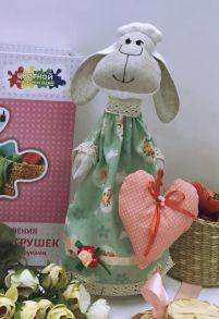 Набор для шитья куклы «Овечка мечтательница» 35 см.