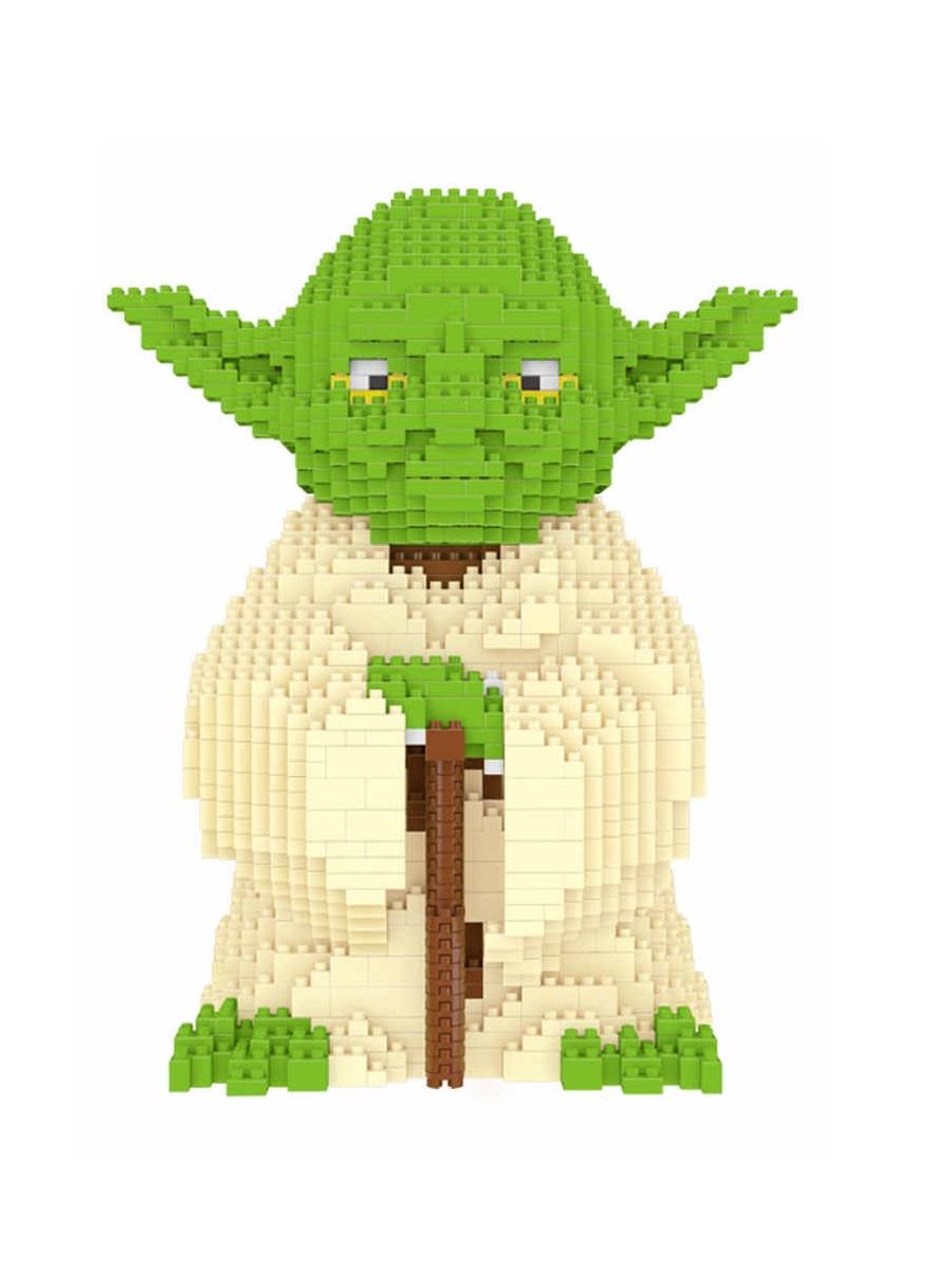 Конструктор Wisehawk & LNO Мастер Йода 1520 деталей NO. 2487 Yoda big Gift Series