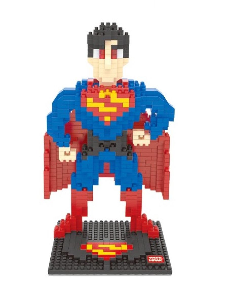 Конструктор Wisehawk & LNO Супермен 777 деталей NO. 2429 Superman Sliper Heroes