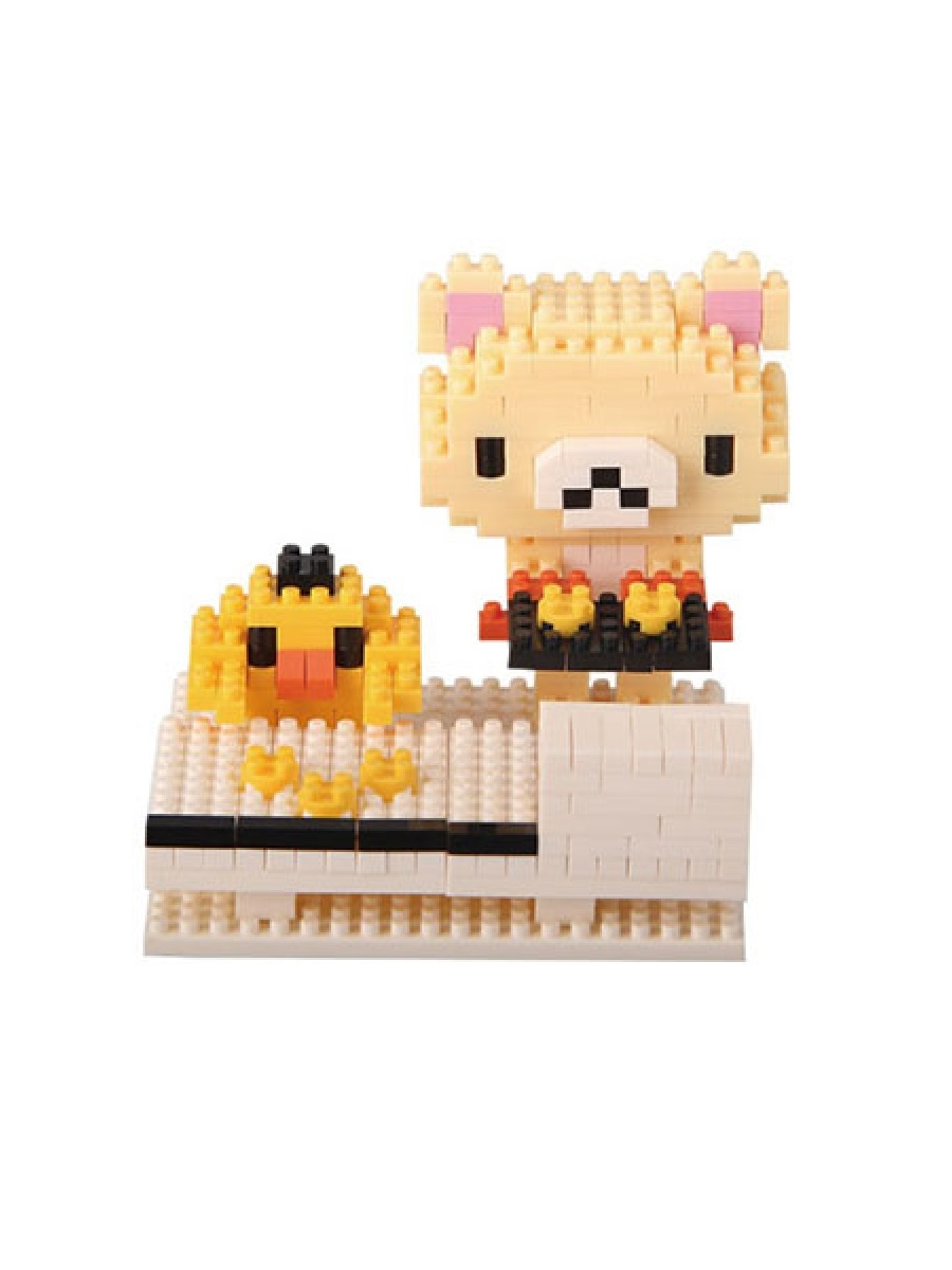 Конструктор Wisehawk & LNO Мини Бир и цыпленок 291 детали NO. 123 Mini bear and chicken Gift Series