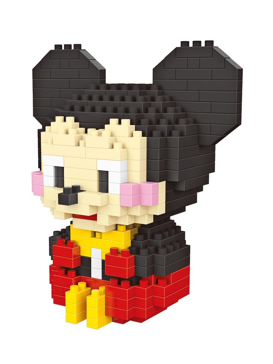 Конструктор Wisehawk & LNO Микки Маус 303 детали NO. 297 Mickey Gift Series