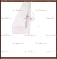 КОМПЛЕКТ дверной ламинированной коробки (2,5 шт.) 2070х74х30 мм. Белый, Серый RAL 7040 + петли  ПНН 80 хром 2 шт.:
