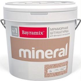 Декоративная Мраморная Штукатурка Bayramix Mineral Saftas 15кг на Основе Натуральных Цветов / Байрамикс Минерал Сафташ