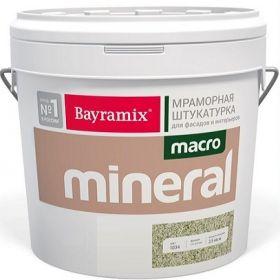 Декоративная Мраморная Штукатурка Bayramix Macro Mineral 20кг с Ярко Выраженной Фактурой / Байрамикс Макро Минерал