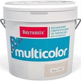 Мозаичное Покрытие Bayramix Multicolor 4кг с Объёмным 3D Рисунком / Байрамикс Мультиколор