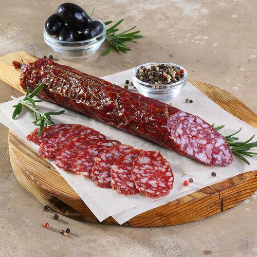 Брауншвейгская колбаса, сырокопченая (цена за кг)