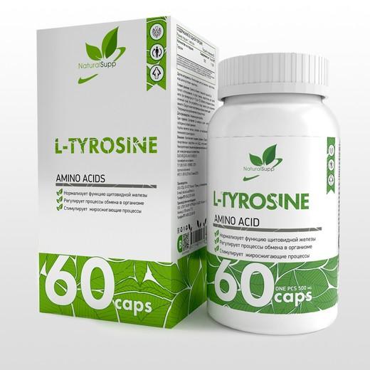 L- Tyrosine от NaturalSupp  60 капс