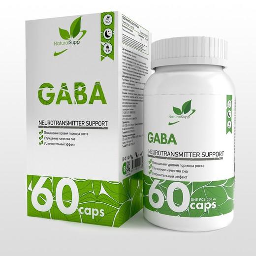 GABA от NaturalSupp 60 капс
