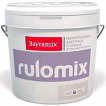 Декоративная Штукатурка Мелкая Шуба Bayramix Rulomix 15кг для Внутренних и Наружных Работ / Байрамикс Руломикс