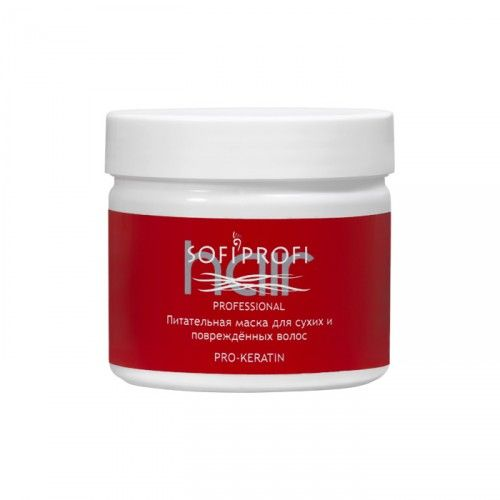 Питательная маска для сухих и повреждённых волос PRO-KERATIN 300мл