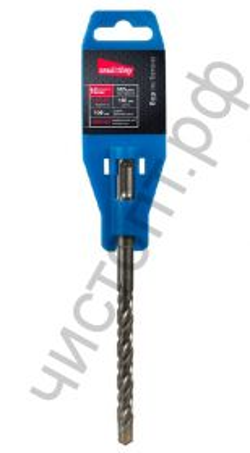 Бур по бетону 10х100х160, HRC>45,SDS-plus твердосп.нак,HRA>89Smartbuy tools,(SBT-HD-10-160-100)/200