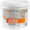 Декоративная Штукатурка Vincent Decor Decorum Rustique 14кг c Эффектом Грубого Необработанного Камня / Винсент Декорум Рустик