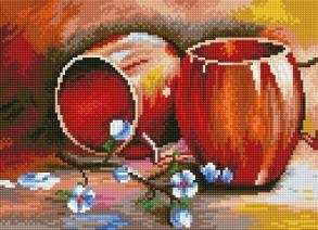 Алмазная мозаика «Натюрморт» 30x40 см