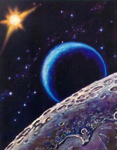 Алмазная мозаика «Космос» 40x50 см