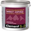 Декоративная Штукатурка Короед Alpa Element S-2 15кг Белая для Внутренних и Наружных Работ / Альпа Элемент С-2