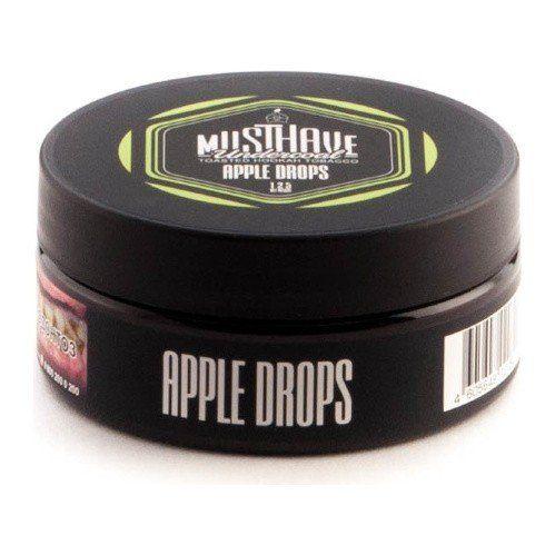 Табак Must Have - Apple Drops (Яблочные Леденцы, 125 грамм)