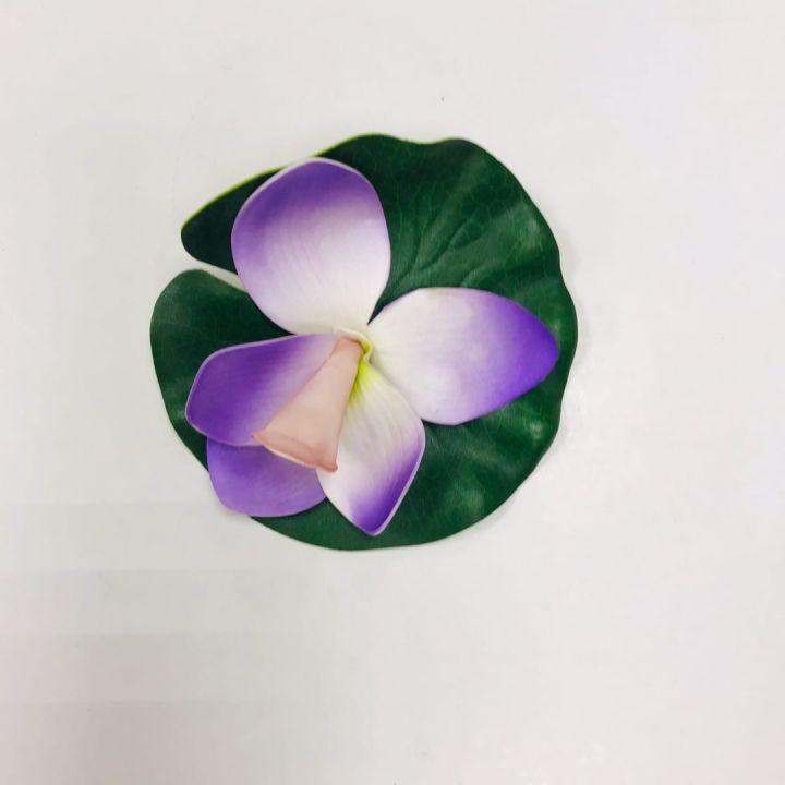Орхидея декоративная дпруда ПВХ, 14см
