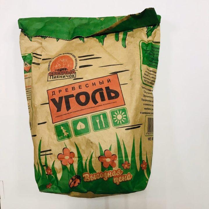 Уголь Древесный 14л Веселый пикничок