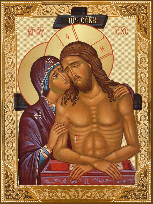 Не рыдай Мене Мати икона Божией Матери