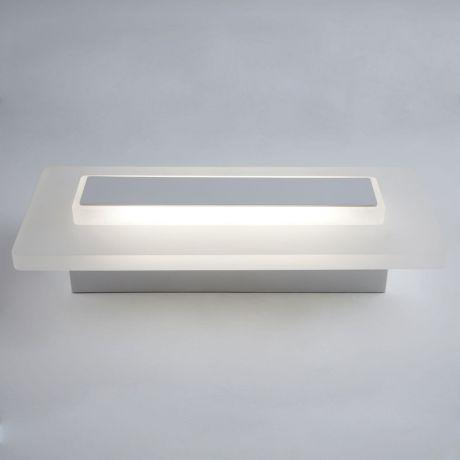 Настенный светодиодный светильник Eurosvet Square 40132/1 Led белый