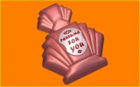 Форма для мыла и шоколада 413 - Духи