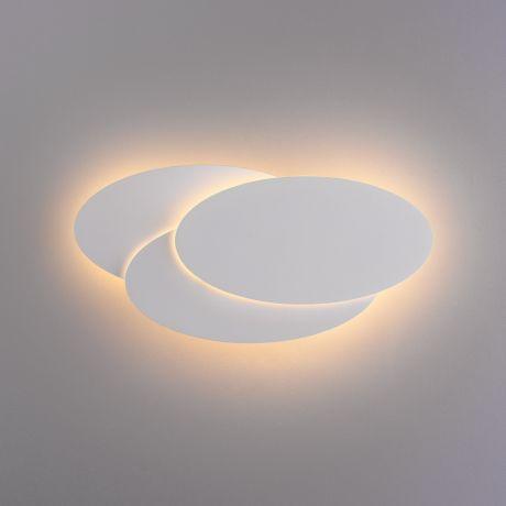 Elips LED белый матовый настенный светодиодный светильник