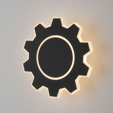 Gear M LED черный Настенный светодиодный светильник