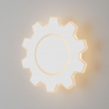 Gear M LED белый Настенный светодиодный светильник