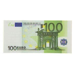 Блокнот для записи 100 евро   824935