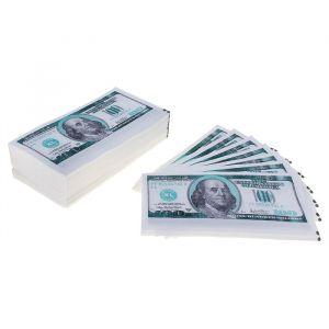 """Салфетки """"Пачка денег 100 долларов"""" 25 листов"""