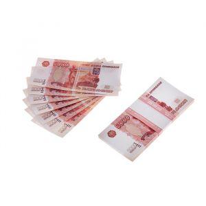 Пачка купюр 5000 рублей 770162