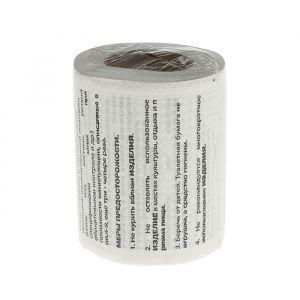 """Сувенирная туалетная бумага """"Инструкция к ТБ"""", мини, 9,5х10х9,5 см 1971271"""