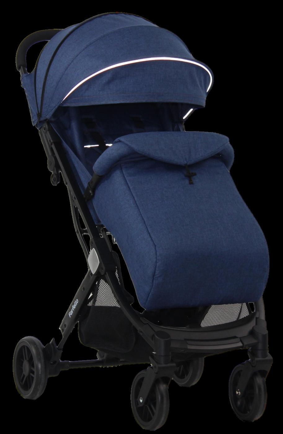 Коляска детская прогулочная Farfello Comfy Go Sapphire/синий