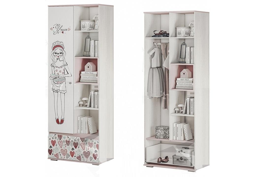 """коллекция """" малибу"""" шкаф с открытыми полками"""