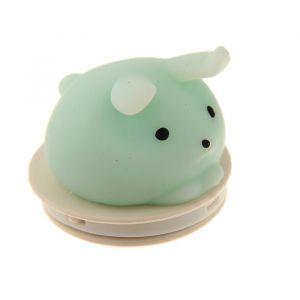 Мялка-антистресс «Зайка», на липучке, цвета МИКС