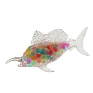 Мялка с гидрогелем «Рыба меч», цвета МИКС