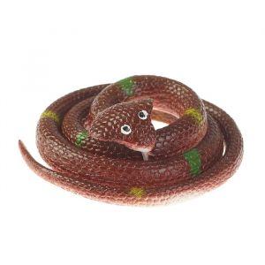 Прикол «Кобра», резиновая, 70 см, цвет коричневый