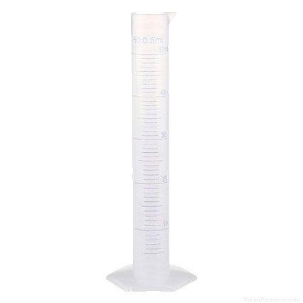 Мерный цилиндр (пластик), 50 мл