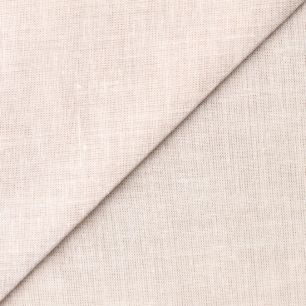 Лоскут ткани Лён песочного цвета 50х37
