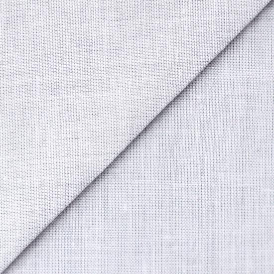 Лоскут ткани Лён серого цвета 50х37