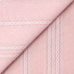 Лоскут ткани Хлопок с выработкой Шитьё на Персиковом 50х37