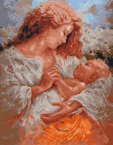 Алмазная мозаика «Радость материнства» 40x50 см