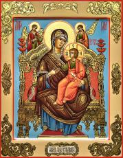 Икона Божией Матери Всецарица (Пантанасса)