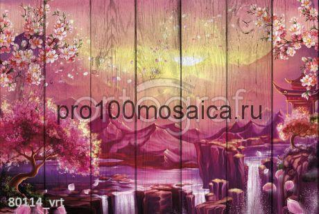 80114 Картина на досках серия ВОСТОК