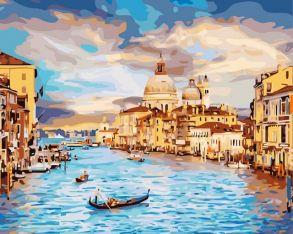 Алмазная мозаика «Очарование Венеции (без подрамника)» 30x40 см