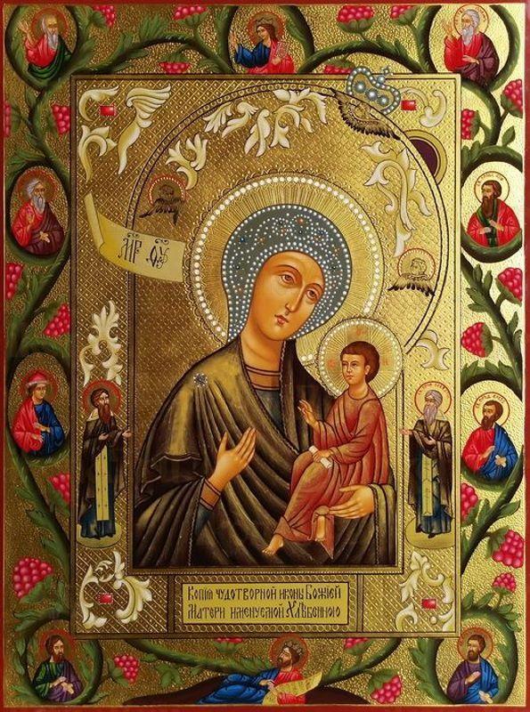 Икона Божией Матери Хлебная (Запечная)