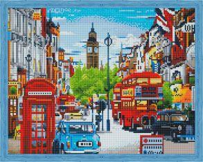 Алмазная мозаика «Улочки Лондона» 40x50 см