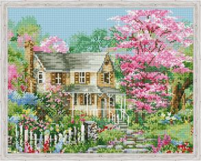Алмазная мозаика «Весна за городом» 40x50 см
