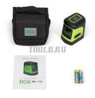 RGK ML-11G лазерный уровень цена с доставкой по России и СНГ