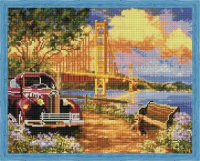 Алмазная мозаика «Американская мечта» 40x50 см